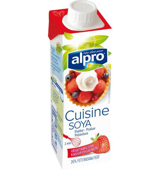 alpro soya vispgrädde
