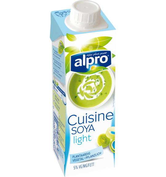 Rein pflanzliche Sahnealternative | Soja-Kochcrème | Alpro