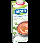 Produkt Verpackug von Soja-Kochcrème Cuisine 'For Professionals'