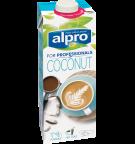 Product verpakking van Alpro kokosnoot Drink 'For Professionals'