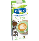 L'emballage du produit Soya Drink 'For Professionals'