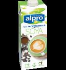 Product verpakking van Alpro soya Drink 'For Professionals'