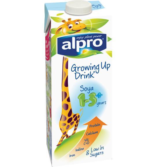 Alpro Soya Growing Up Drink 1 3 Alpro Health
