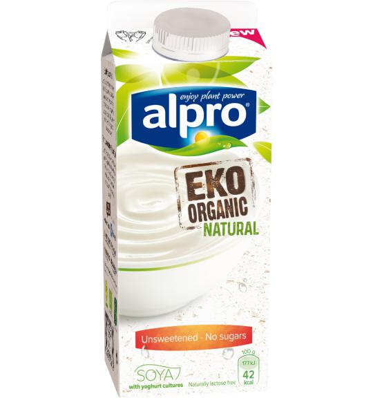 alpro soya naturell