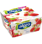 L'emballage du produit Fraise - Rhubarbe / Groseille-Pomme Rouge