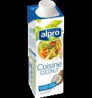 Produkt Verpackug von Kokosnuss-Kochcrème Cuisine